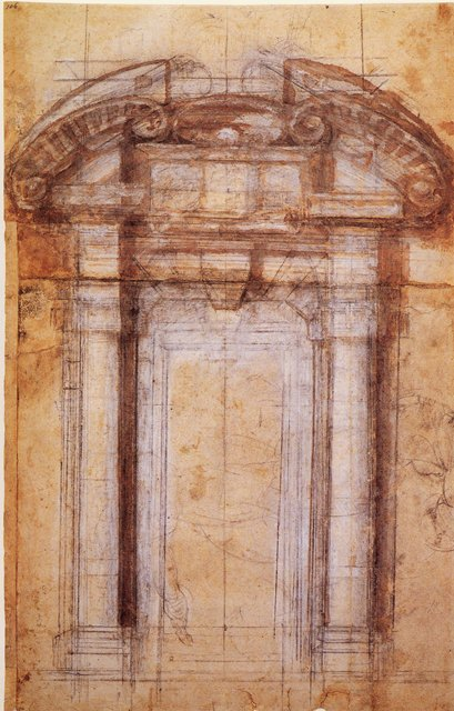 Firenze l invisibile nei disegni di michelangelo mostra on linedella fototeca del - Mostra della porta ...