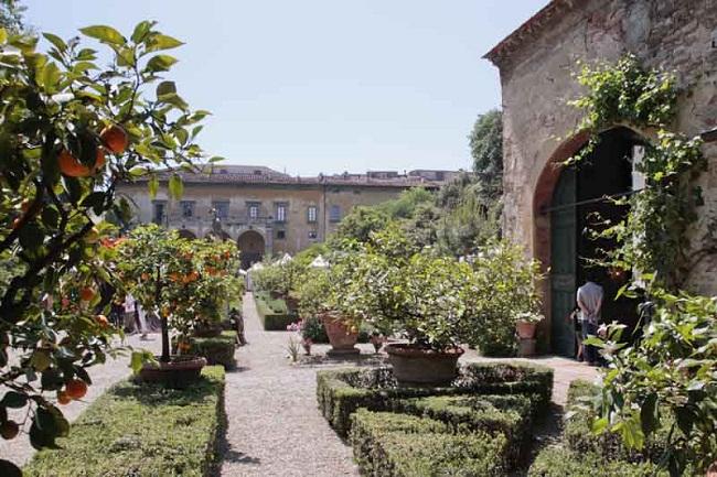 Firenze artigianato a palazzo festeggia 20 anni ai giardini corsini di firenze un - I giardini di palazzo rucellai a firenze ...