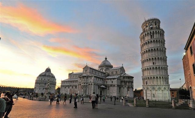 Aperture monumenti/musei Piazza del Duomo di Pisa