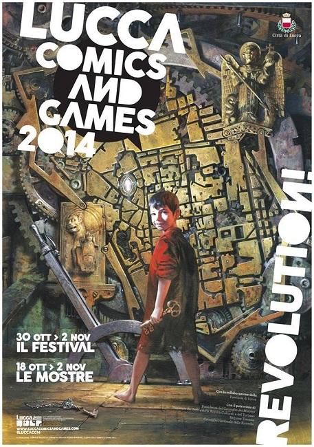 Revolution! Ecco l'edizione 2014 del Lucca Comics & Games