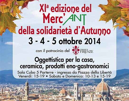 """Torna il """"Merc'ANT della solidarietà d'Autunno"""" al Parterre con la Fondazione ANT Onlus"""