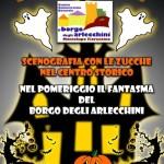 """[ Montelupo Fiorentino ] Montelupo Halloween, al Borgo degli Arlecchini arriva il """"Fantasma del borgo"""""""