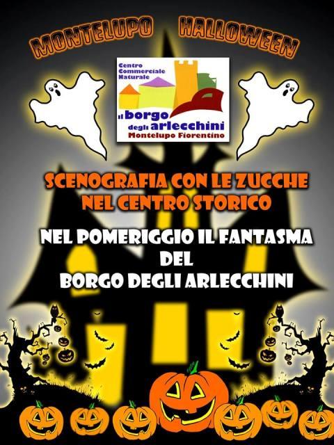 """Montelupo Halloween, al Borgo degli Arlecchini arriva il """"Fantasma del borgo"""""""