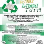 """[ Vinci ] """"Bibliobaratto"""" alla Biblioteca Civica: partecipazione è libera e gratuita"""
