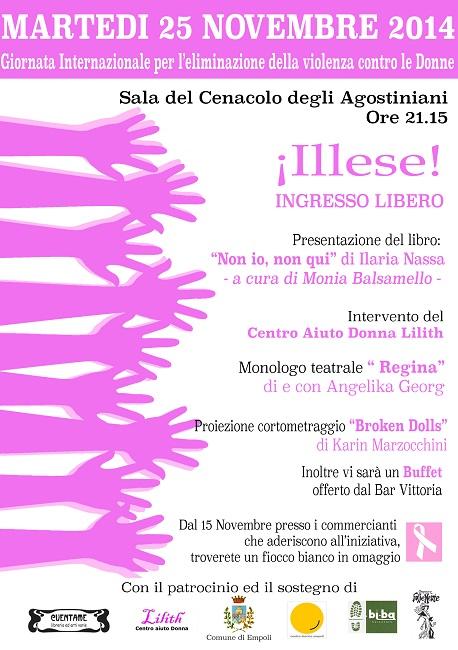 Giornata contro la violenza sulle donne: agli Agostiniani un omaggio fra letteratura, teatro e cinema