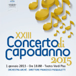 [ Pisa ] XXIII Concerto di Capodanno 2015 con l'Orchestra Archè diretti da Francesco Pasqualetti al Teatro Verdi