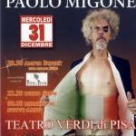 """[ Pisa ] Ultimo dell'anno con Paolo Migone e il suo spettacolo """"Italia di M…are"""" al Teatro Verdi"""