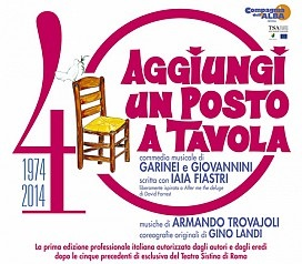 Livorno teatro goldoni aggiungi un posto a tavola - Aggiungi un posto a tavola musical completo ...