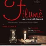 """[ Pontedera ] """"Filumè. Una voce mille pensieri"""": alla Sala Valli nel ricordo del grande De Filippo"""