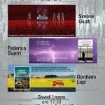 """[ Pontedera ] Simone Giusti, Gordiano Lupi e Simone Guerri: """"3 autori"""" all'Ospedale Lotti"""