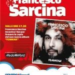 [ Empoli ] Francesco Sarcina, ex cantante de Le Vibrazioni, presenta il suo nuovo album al Centro commerciale di Empoli