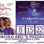 [ Empoli ] Ultimo appuntamento della terza edizione della Champions L.I.F. il torneo delle Stelle al Circolo ARCI Il Pozzale
