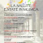 """[ Montecatini Terme ] """"La Salute – Estate in Musica"""" serate d'intrattenimento musicale allo stabilimento Termale la Salute"""