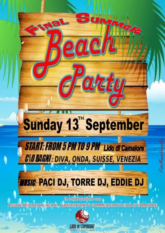 Lido di camaiore final summer beach party lido di - Diva immobiliare lido di camaiore ...