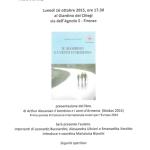 """[ Firenze ] Arthur Alexanian preseterà il suo libro """"Il bambino e i venti d'America"""" vincitore del Concorso Autori per l'Europa al Giardino dei Ciliegi"""
