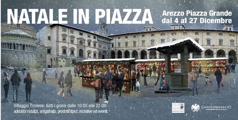Arezzo mercatino tirolese in piazza grande arezzo for Arezzo mercatino