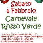 [ Fucecchio ] Carnevale Rosso e Verde in Sant'Andrea: festa più cena