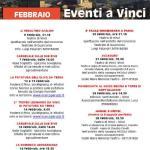 [ Vinci ] Tanti eventi nel mese di febbraio nel comune di Vinci dal teatro al carnevale