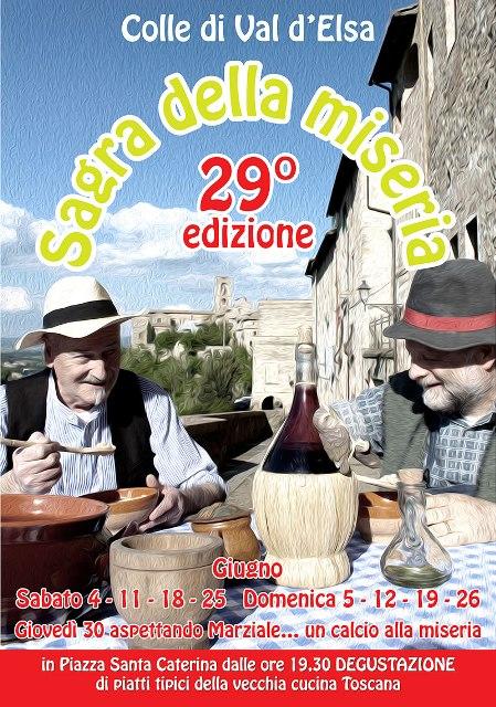 Colle di val d colle di val d 39 elsa sagra della miseria for Pianta della miseria