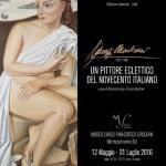 [ Montepulciano ] Giuseppe Marchianò. Un pittore eclettico del novecento italiano