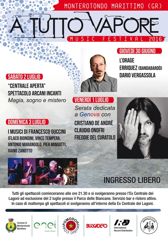 Festival (Musica) a Tutto Vapore a Monterotondo Marittimo