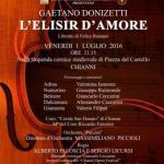 """[ Chianni ] Il Chianni Opera Festival si chiude con """"L'elisir d'amore"""" di Gaetano Donizetti"""