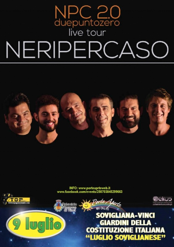 Torna il Luglio Soviglianese: quest'anno grandi serate e il concerto dei Neri per Caso
