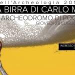 """[ Poggibonsi ] """"La birra di Carlo Magno"""" per le Notti dell'Archeologia"""