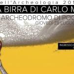 """[ Poggibonsi ] """"La birra di Carlo Magno"""": appuntamento presso l'Archeodromo di Poggio Imperiale"""