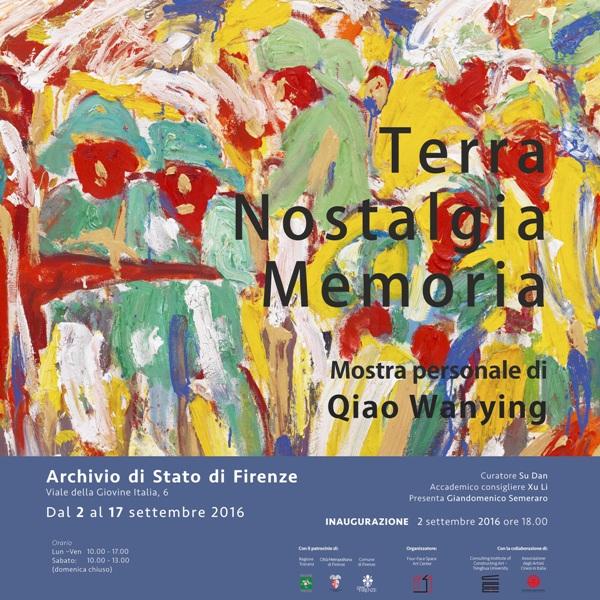 """Terra Nostalgia Memoria L'arte """"rurale"""" di Qiao Wanying: mostra negli spazi espositivi dell'Archivio di Stato di Firenze"""