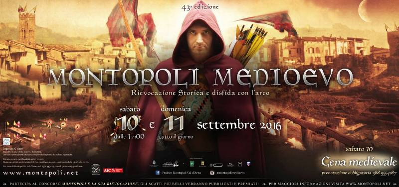 Montopoli Medioevo – 43° Rievocazione Storica e Disfida con l'arco