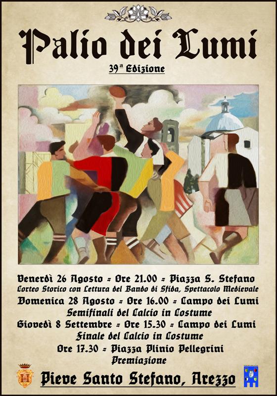 Arriva la 39^ edizione del Palio dei Lumi a Pieve Santo Stefano