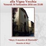 """[ Firenze ] """"Mayr, il maestro di Donizetti"""": concerto di musica da camera presso la Chiesa Evangelica dei Fratelli a Firenze"""