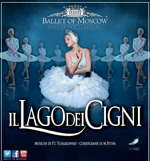 Il Lago dei Cigni, Ballet of Moscow al Teatro Petrarca