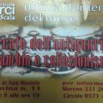 [ San Miniato ] Mercato dell'antiquariato, scambio e collezionismo alla Scala
