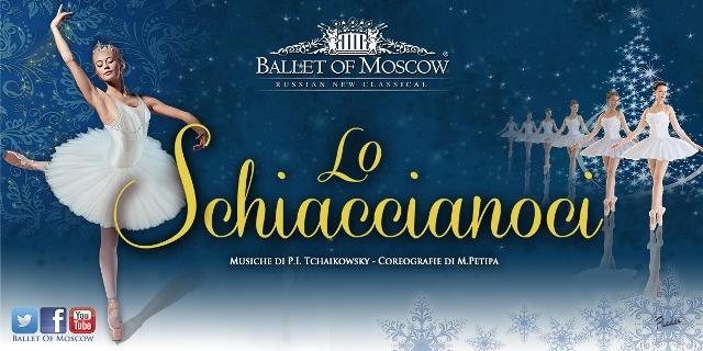 Lo schiaccianoci con il Ballet of Moscow al Teatro la Pergola