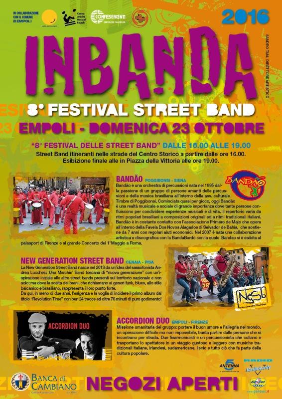 InBanda torna a Empoli per l'ottava edizione