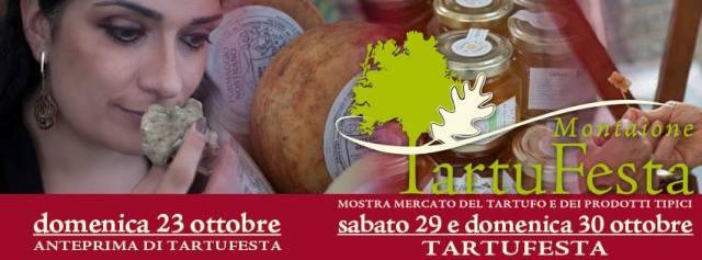 Anteprima della di Tartufesta, mostra mercato del tartufo e dei prodotti tipici