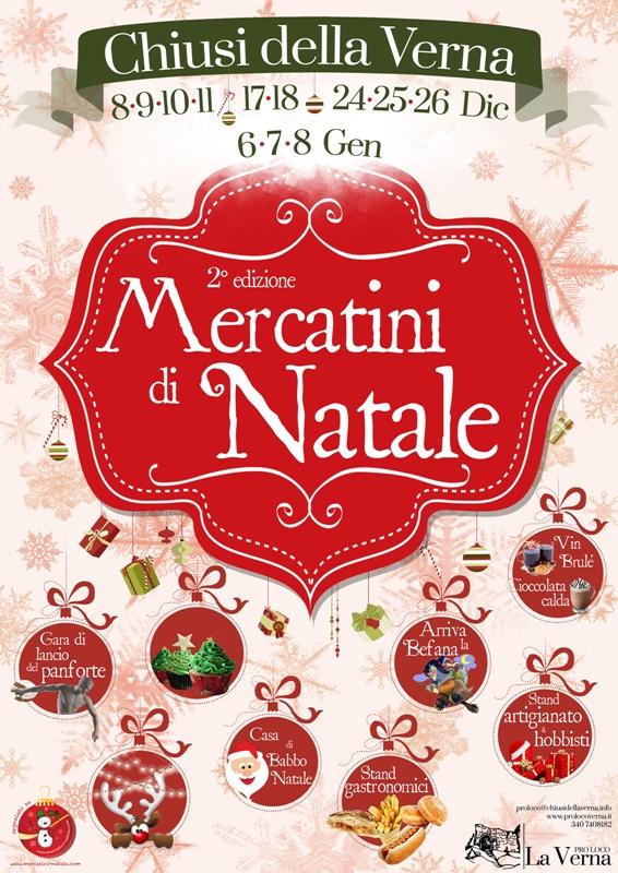 Mercatini di Natale a Chiusi della Verna: seconda edizione