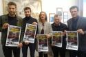 Presentazione del concerto durante la conferenza stampa a Vinci