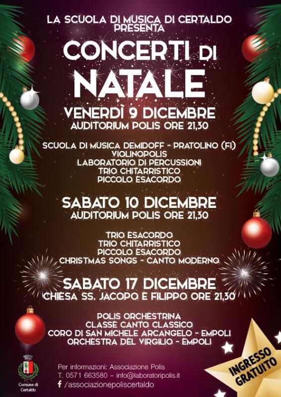 Natale in musica con Polis