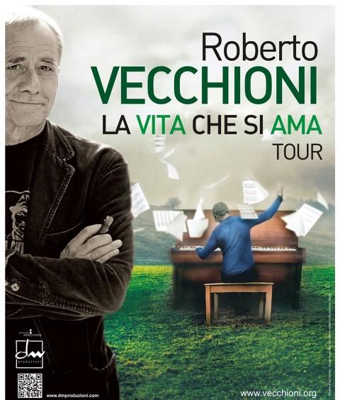 Roberto Vecchioni La Vita che si Ama Tour 2017 all'Obihall