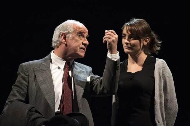 Elvira con Toni Servillo al Teatro Niccolini