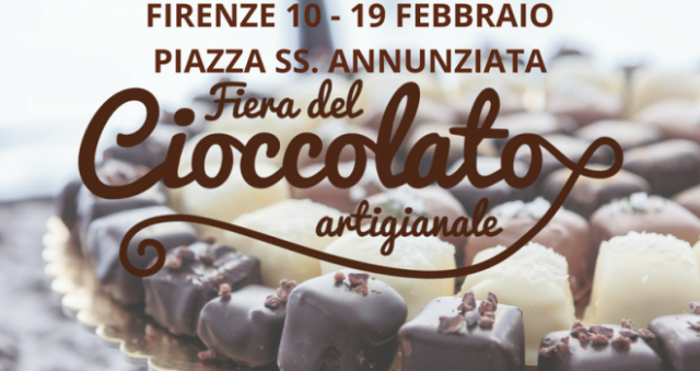 Fiera del Cioccolato Artigianale in Piazza Santissima Annunziata