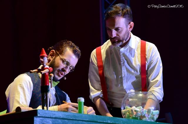 Processo a Pinocchiocon Cristian Ruiz e Luca Giacomelli Ferrarini al Teatro del Cestello
