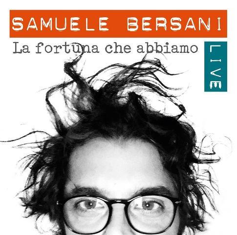 Samuele Bersani in Tour La fortuna che abbiamo al Teatro Puccini
