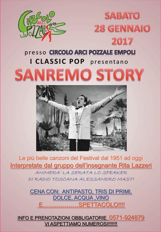I Classici Pop presentano Sanremo Story al Circolo ARCI Pozzale di Empoli