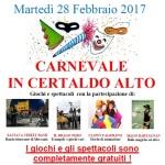 [ Certaldo ] Martedì grasso: a Certaldo c'è il Carneval-teatro di strada. Trampolieri, maghi, bolle e street band