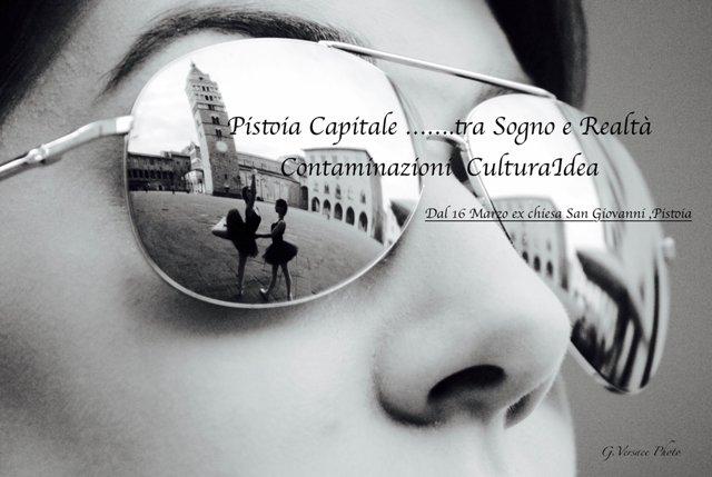 Una mostra per onorare Aristodemo Capecchi che fonde la fotografia di Giusy Versace con l'astrattismo di Stefania Salvatori e diventa una contaminazione Culturidea