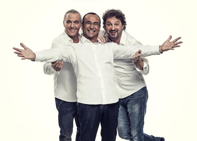 Panariello, Conti e Pieraccioni sul palco del Lucca Summer Festival